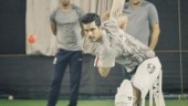 Angad Bedi undergoes gruelling training with dad Bishan Singh Bedi for Inside Edge 2