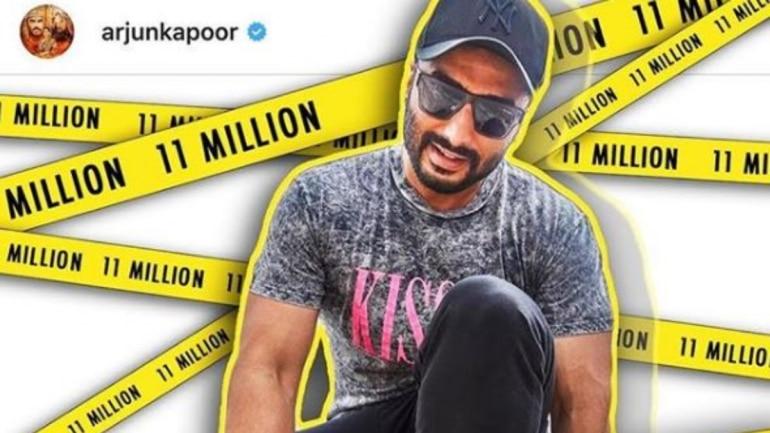 Arjun Kapoor has 11 million followers on Instagram