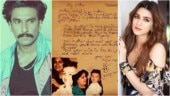 Arjun Kapoor's handwritten old poem for mom Mona leaves Ranveer Singh and Kriti Sanon teary-eyed
