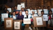 BHU students gift Ayushmann Khurrana sketches of Bala. He is bowled over