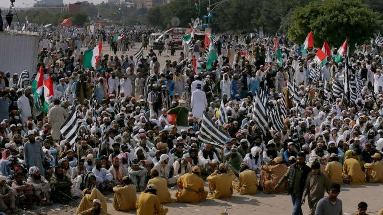 PM Imran Khan's resignation minimum demand, assembly dissolution maximum: Azadi March leader