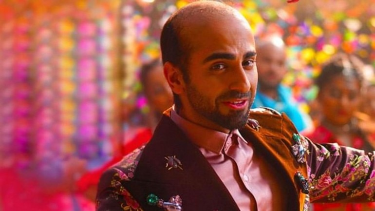 Ayushmann Khurrana plays the role of a man suffering from premature balding in Bala.