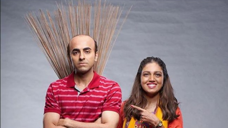 In Bala, Ayushmann Khurrana plays a man suffering from premature balding, while Bhumi Pednekar plays a lawyer who is dark-skinned.