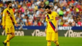Real Madrid miss chance to top table after Barcelona suffer 3-1 defeat