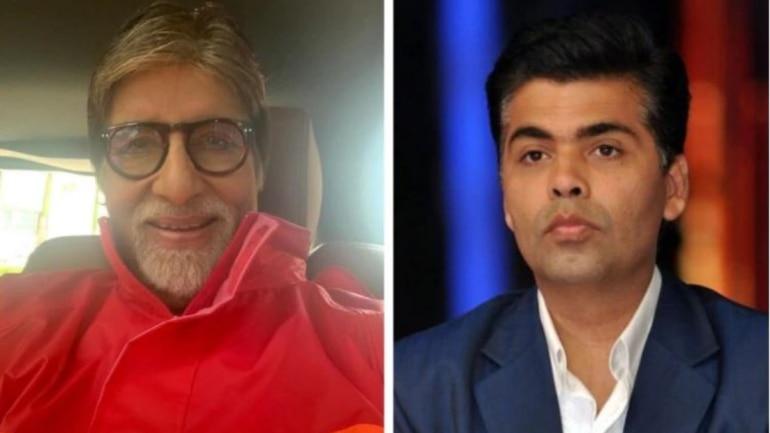 Kraan Johar congratulates Amitabh Bachchan for completing 50 years in Bollywood.
