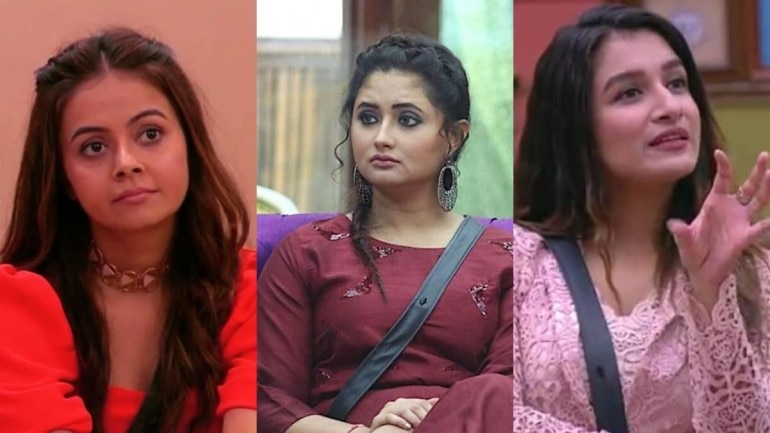 Bigg Boss 13 Rashami Desai Devoleena Bhattacharjee And