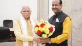 Manohar Lal Khattar meets LS speaker Om Birla to discuss Haryana issues