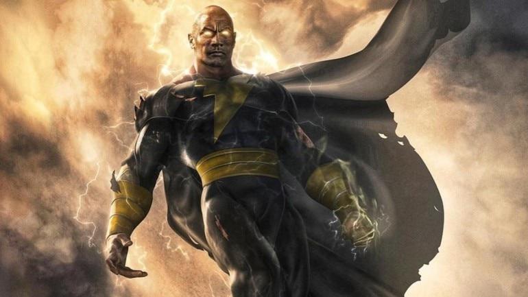 Dwayne Johnson will play a superhero in Black Adam.