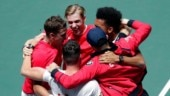 Canada reach 1st ever Davis Cup finals after 2-1 win over Russia