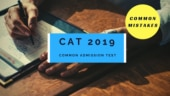 CAT 2019: 8 common mistakes you shouldn't make on CAT exam day