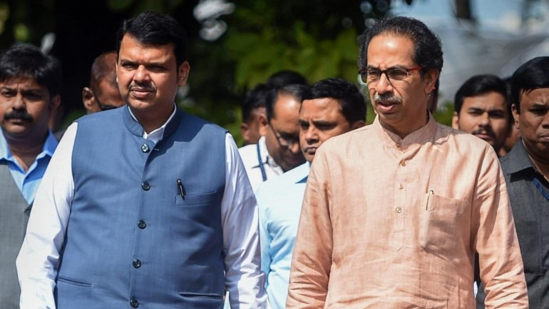 Devendra Fadnavis has hit out at Uddhav Thackeray