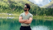 Shahid Kapoor hits a six at practice session for Jersey. Watch video