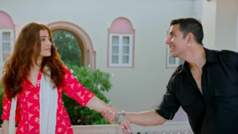 Akshay Kumar and Nupur Sanon in Filhall song