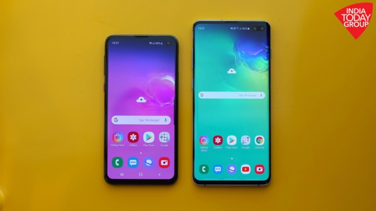 Samsung Galaxy S10e and S10 Plus