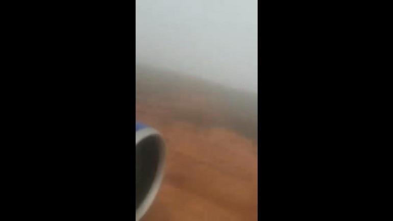 WATCH | GoAir Nagpur-Bengaluru flight veers off runway, takes off from grass