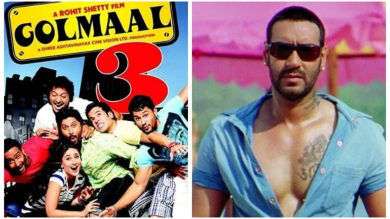 Ajay Devgn on nine years of Golmaal 3