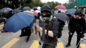 Hong Kong students hunker down as government dismisses curfew rumours