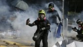 Fresh clashes erupt in Hong Kong university; police fire tear gas, protesters hurl petrol bomb
