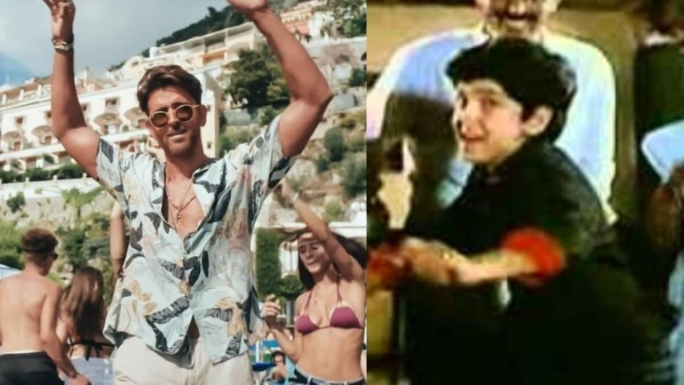 A video of 10-year-old Hrithik Roshan dancing at a wedding has gone viral.
