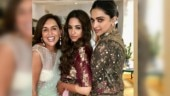 Deepika Padukone stuns in jacket-style anarkali suit at friend's pre-wedding bash