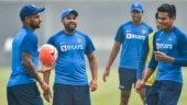 Unlike Bangladesh, India cricketers train without pollution maks ahead of Delhi T20I