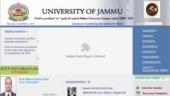 Jammu University UG Results 2019: Check list of courses, steps to check