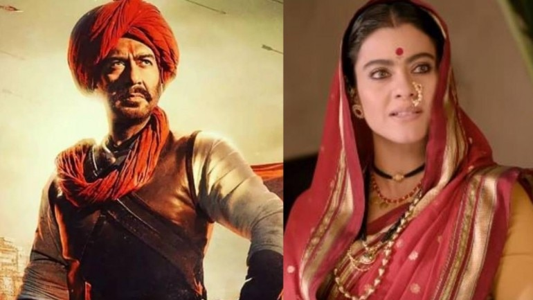 In Tanhaji: The Unsung Warrior, Ajay Devgn plays the titular role, while Kajol will be seen playing his wife Savitribai Malusare.