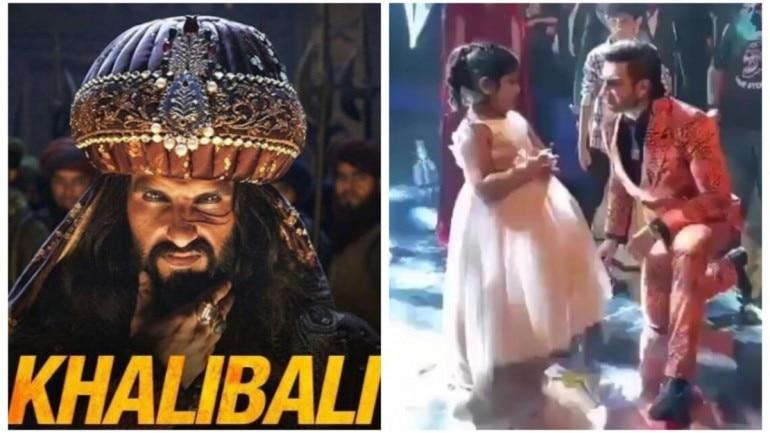 Ranveer Singh recreates Khalibali with fan