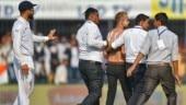 India vs Bangladesh: Virat Kohli fan sneaks onto field during Indore Test