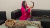 Pakistani singer Rabi Pirzada, who threatened Modi with snakes, bitten by nude video leak