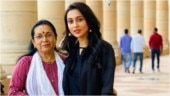 Mimi Chakraborty posts delightful pic with mom outside Parliament. Internet loves
