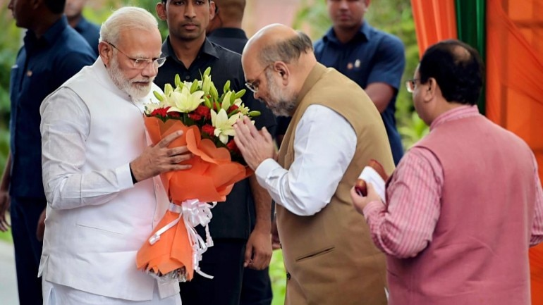 Amit Shah PM Modi