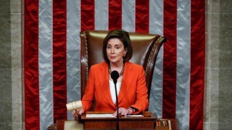Nancy pelosi, donald trump impeachment