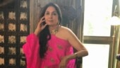 Neena Gupta in halter neck black dress shows how to do an evening look right