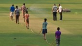 Day-night Test: BCCI president Sourav Ganguly inspects Eden pitch before India coach Ravi Shastri