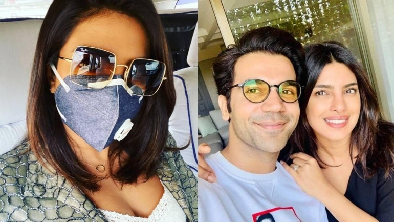 Priyanka Chopra is currently shooting for her next Netflix project, The White Tiger, with Rajkummar Rao in Delhi.