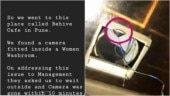 Woman finds hidden camera in Pune cafe loo. Twitter is furious
