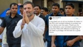 Rahul Gandhi thanks SPG for protecting Gandhi family for years as govt removes security