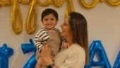 Sania Mirza has the most adorable Thanksgiving with son Izhaan. Do not miss Dia Mirza's comment