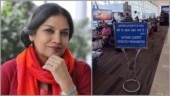 Shabana Azmi posts hilarious pic of airport signboard, Internet cannot stop laughing