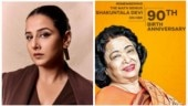 Vidya Balan on Shakuntala Devi's 90th birth anniversary: Charismatic and exceptionally brilliant