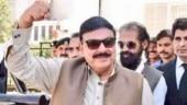 Pakistan minister Sheikh Rashid says aag lagi nashte main in viral clip. Twitter asks what?