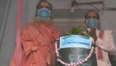 Shiv Ling at Varanasi temple wears anti-pollution mask after Parvati and Kali