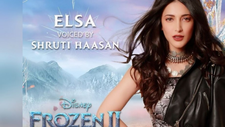 Shruti Haasan to lend voice for Tamil version of Frozen 2.
