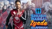 Ayushmann Khurrana shares first look from Shubh Mangal Zyada Saavdhan. Film to release in Feb 2020