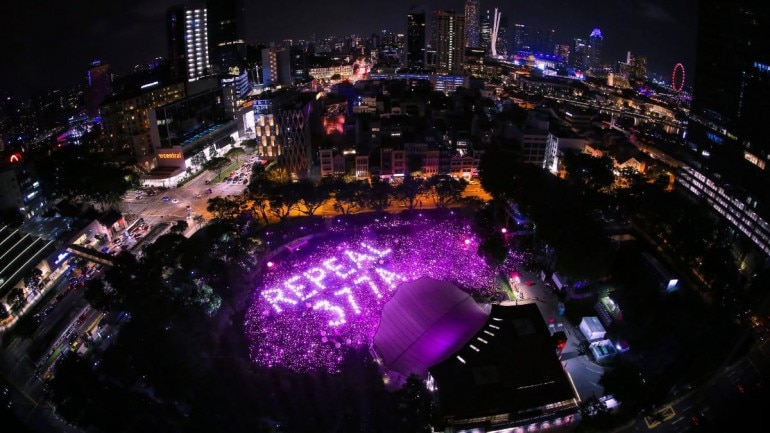 singapore same sex marriage, repeal 377a