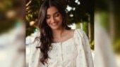 Sonam Kapoor treats LA to a red carpet moment in white floral dress. It costs Rs 60k