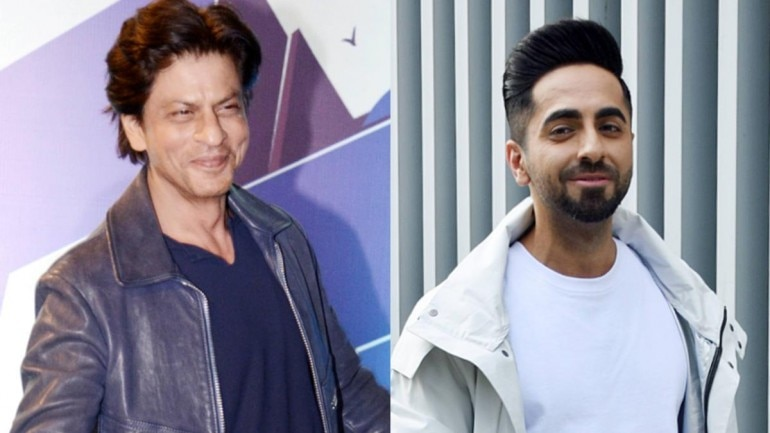 Ayushmann Khurrana along with other Bollywood celebrities wished Shah Rukh Khan on his 54th birthday.