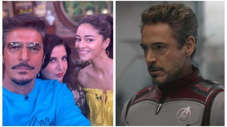 Ananya Panday called her dad Chunky Panday, Tony Stark