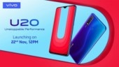 Vivo U20 battery details revealed on Amazon India ahead of November 22 launch